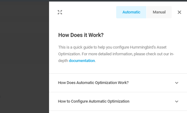 automatic optimization how does it work