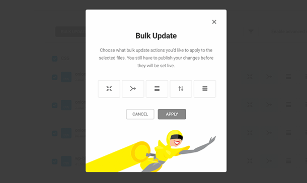 bulk update module