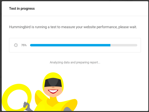 Running performance test