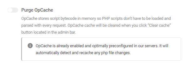 OpCache enabled by default on WPMU DEV hosting