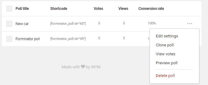 Polls-data