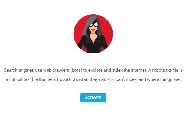Robots.txt editor