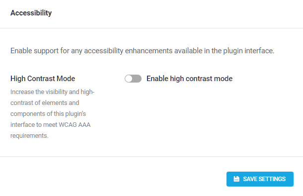 SmartCrawl accessibility option