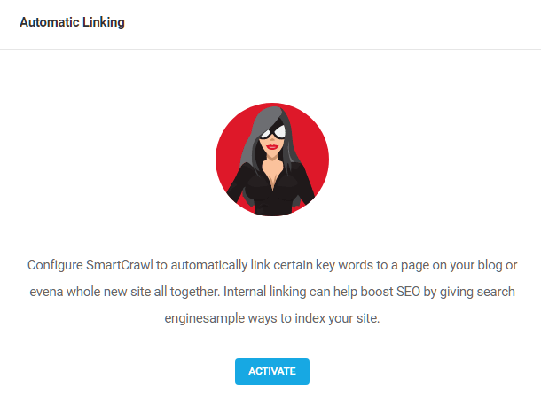 Enable automatic linking in SmartCrawl