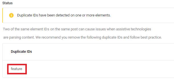 duplicate-id-in-seo-checkup