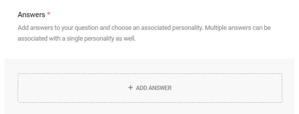 Add answer to quiz