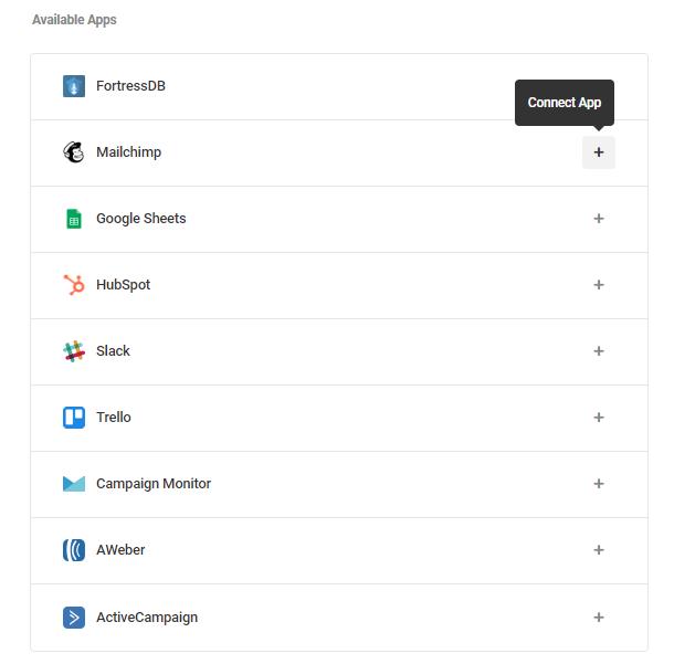 mailchimp-connect-app