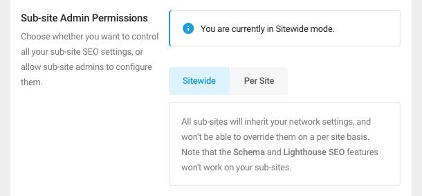 Subsite Admin Permissions