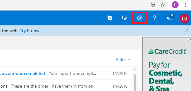 outlook.com settings icon