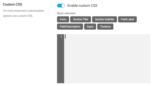 Add custom CSS to a Forminator poll
