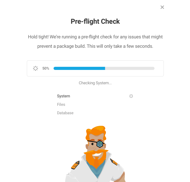 Pre-flight check in Shipper package migration