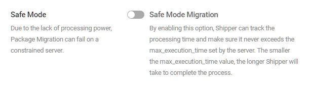 shipper-package-settings-safemode