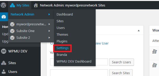 Multisite file size and type limits