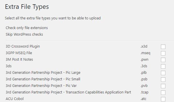 WPEFT plugin overview
