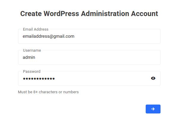 create-wordpress-admin-account