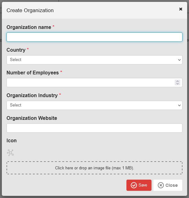 Create an organization in Blackfire account