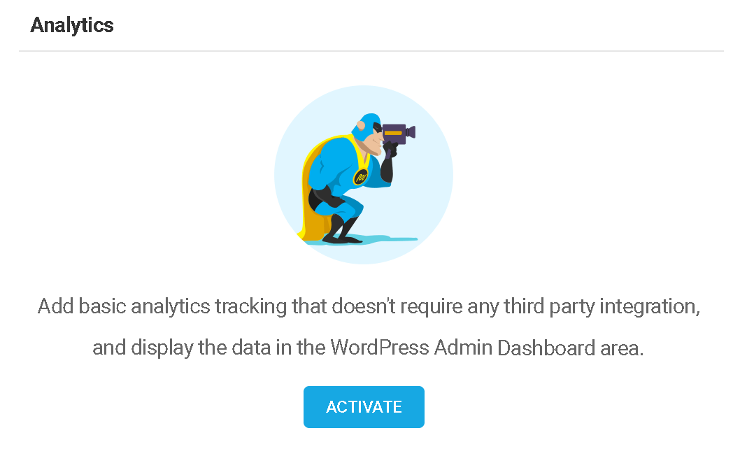 Dashboard plugin analytics