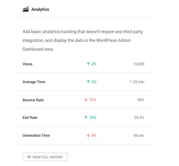 analytics dashboard overview