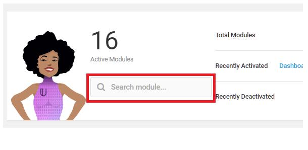 Branda-modules-search