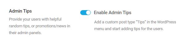Branda-enable-admin-tips