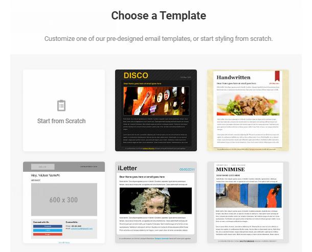 Branda-select-email-template