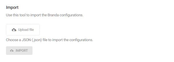 Branda-import-option