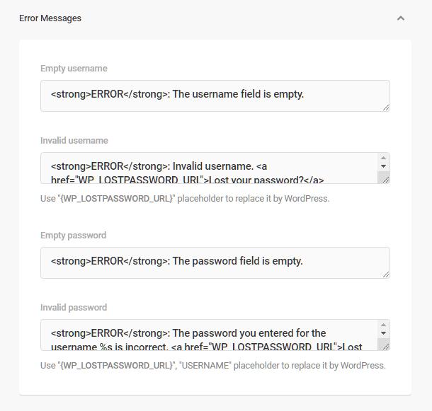 Branda-login-screen-error-messages