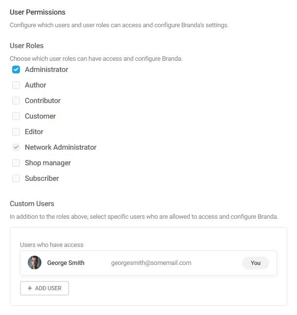 Branda-permissions-settings