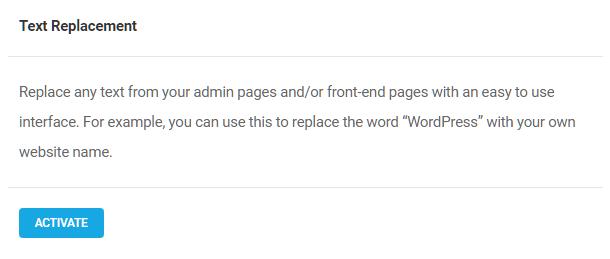 Activate-Branda-text-replacement