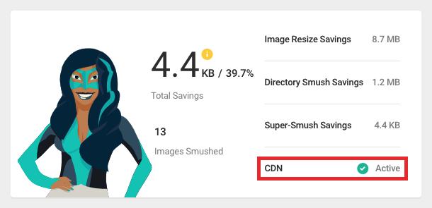 CDN status bandwidth