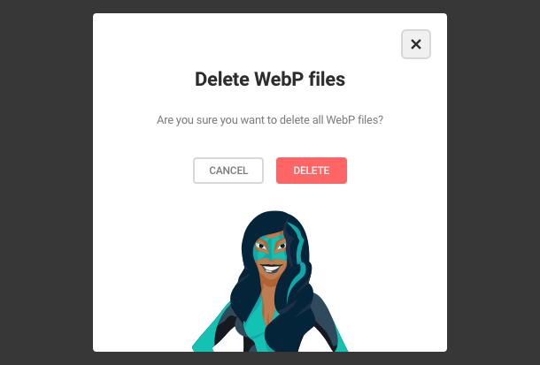 Delete WebP