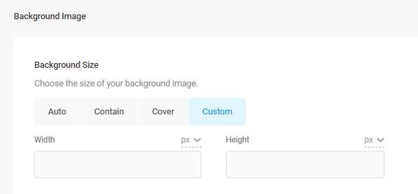 background size settings