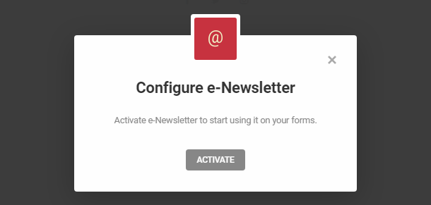 e-Newsletter integration with Hustle