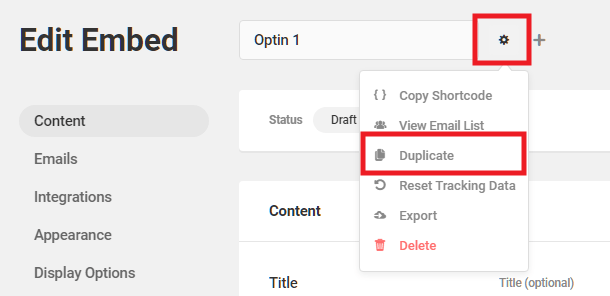 Duplicate a module from within the Hustle editor