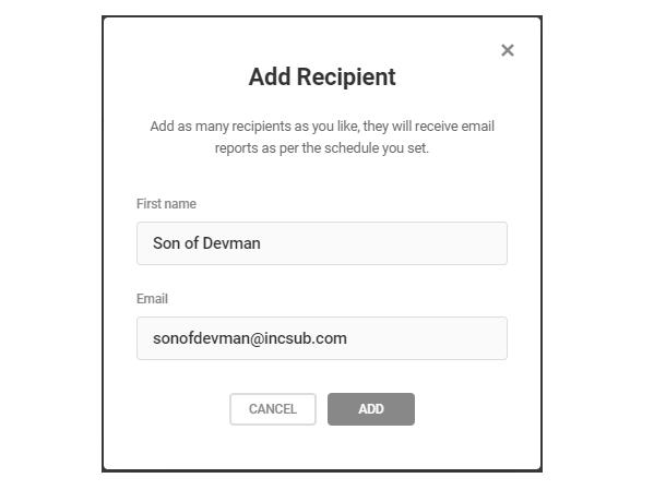 Add recipient to notifications in Defender security tweaks
