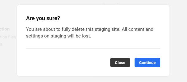 hosting-staging-delete-staging