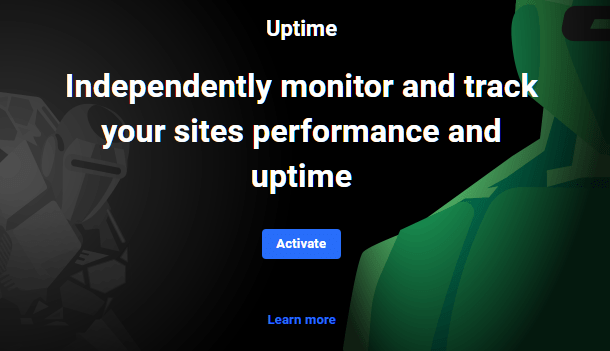 Hub 2.0 Uptime activate screen