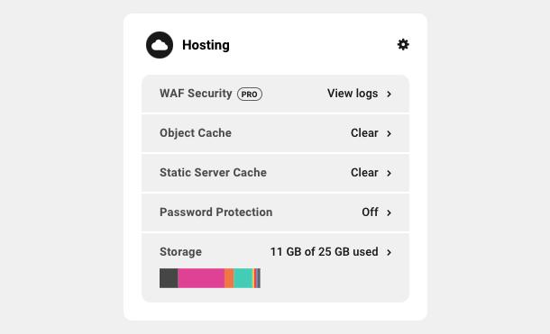 Hosting module