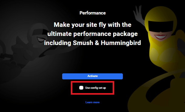 Hub performance activate