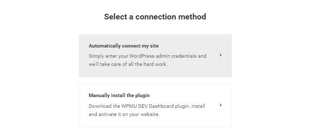 Hub2 auto-connect site