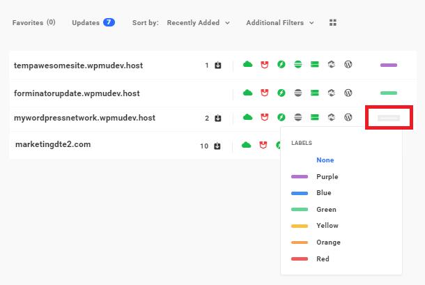 Hub 2.0 custom labels