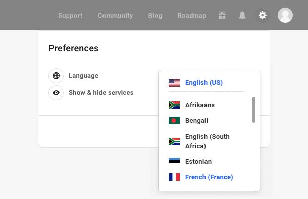 hub language