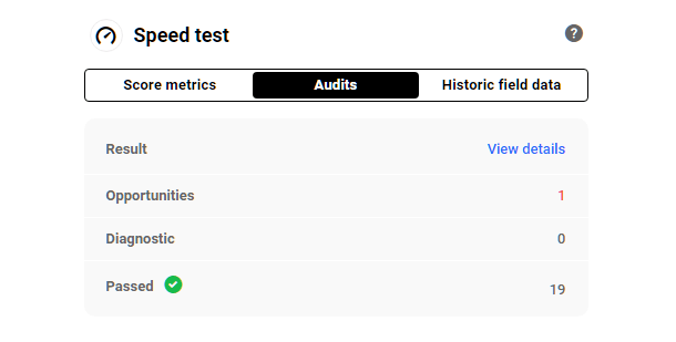 performance-overview-speed-audits