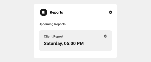 Reports module