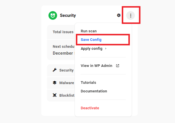 security-config-save
