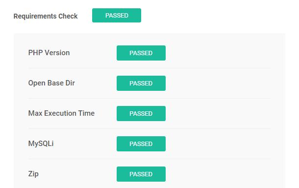 Snapshot installer requirements check