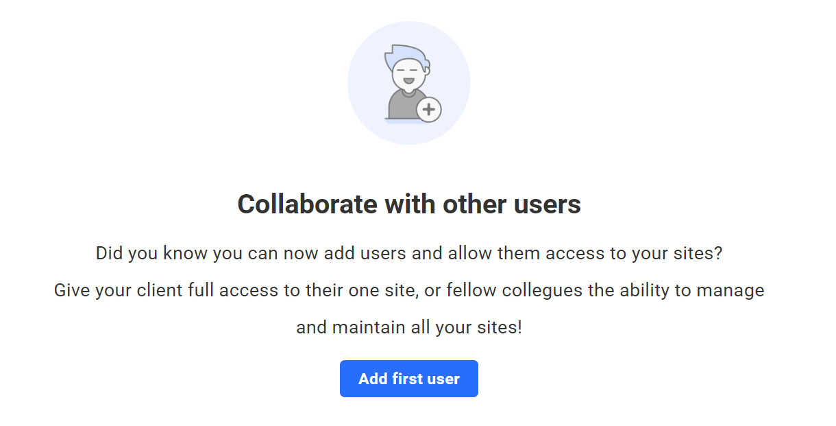 create first user