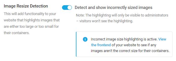 Smush pro image resize detection