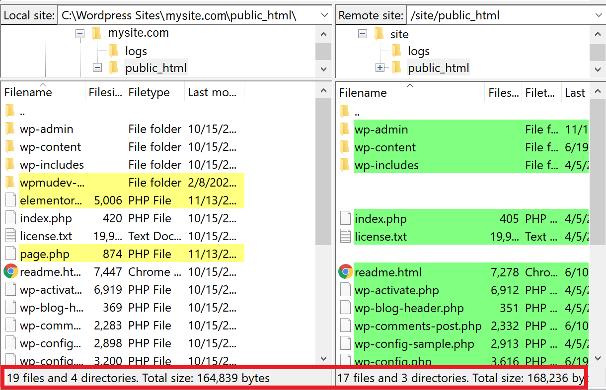 synced browsing example
