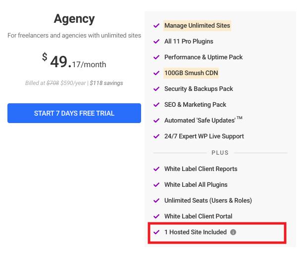 Agency WPMU DEV membership plan